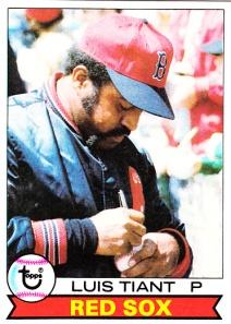 1979 Topps Luis Tiant