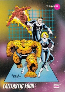 1992 Impel Marvel Fantastic Four