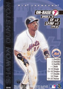 2000 MLB Showdown Shawon Dunston