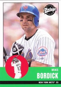 2001 UD Vintage Mike Bordick