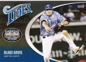 2012 Choice Norfolk Tides Blake Davis