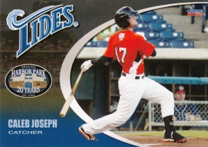 2012 Choice Norfolk Tides Caleb Joseph
