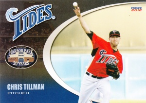 2012 Choice Norfolk Tides Chris Tillman