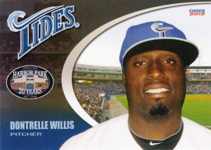 2012 Choice Norfolk Tides Dontrelle Willis