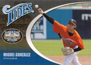 2012 Choice Norfolk Tides Miguel Gonzalez