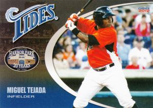 2012 Choice Norfolk Tides Miguel Tejada
