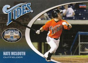 2012 Choice Norfolk Tides Nate McLouth