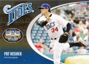 2012 Choice Norfolk Tides Pat Neshek