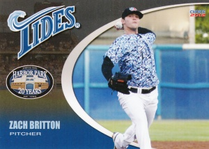 2012 Choice Norfolk Tides Zach Britton