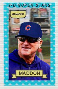 2014-15 TSR Hot Stove #1 Joe Maddon