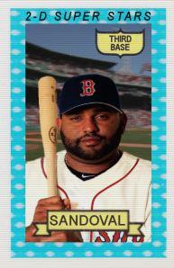 2014-15 TSR Hot Stove #6 Pablo Sandoval