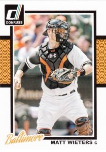 2014 Donruss Matt Wieters