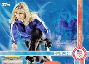 2014 Topps Olympics - Games Of The Olympiad Erika Brown