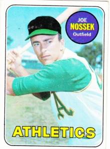 1969 Topps Joe Nossek