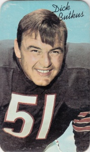 1970 Topps Super Football Dick Butkus
