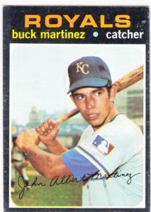 1971 Topps Buck Martinez