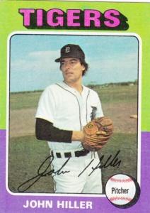 1975 Topps John Hiller