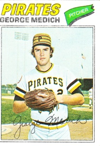 1977 Topps George Medich