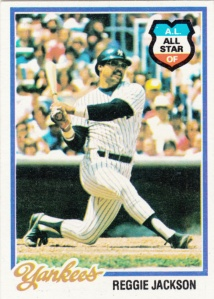 1978 Topps Reggie Jackson