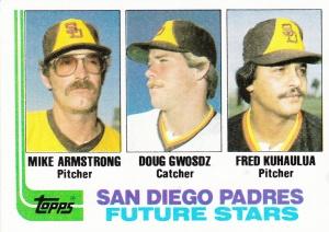 1980 Topps Padres Future Stars