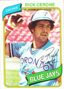 1980 Topps Rick Cerone
