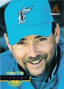 1994 Pinnacle Bryan Harvey