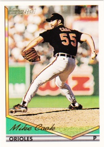 1994 Topps Gold Mike Cook