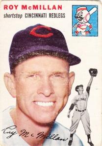 1954 Topps Roy McMillan