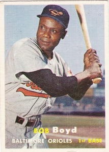 1957 Topps Bob Boyd