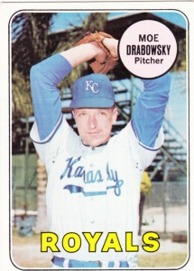 1969 Topps Moe Drabowsky
