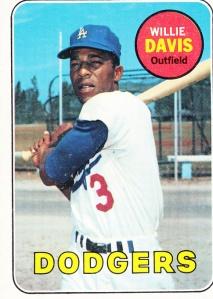 1969 topps Willie Davis
