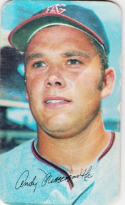 1970 Topps Super Andy Messersmith