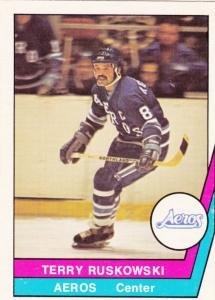 1977 78 OPC WHA Terry Ruskowski