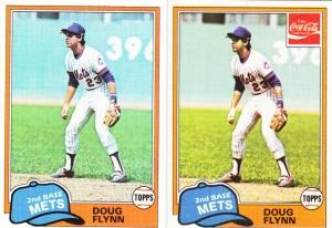 1981 Topps & Coke Doug Flynn