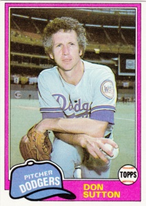 1981 Topps Don Sutton