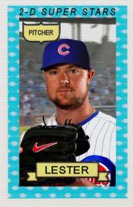 2014-15 TSR Hot Stove #18 Jon Lester