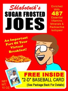2014 Cereal Box