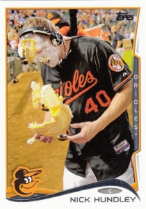 2014 Topps Update Nick Hundley