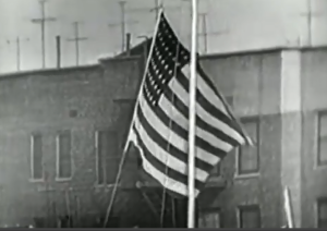52 WS G7 Flag being raised