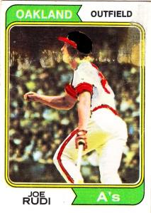 Brushed 1974 Joe Rudi
