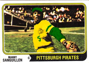 Brushed 1974 Manny Sanguillen
