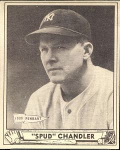1940 Play Ball Spud Chandler from web