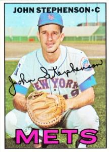 1967 Topps John Stephenson