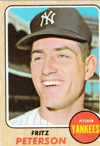 1968 Topps Fritz Peterson