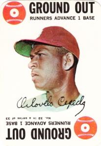1968 Topps Game Orlando Cepeda