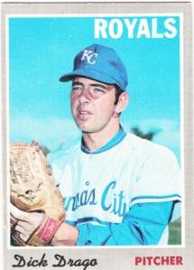 1970 Topps Dick Drago