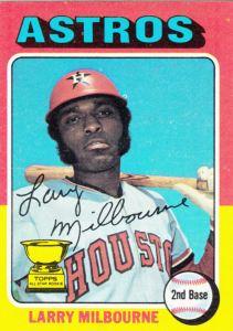 1975 Topps Larry Milbourne