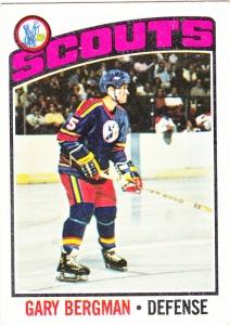 1976-77 Topps Gary Bergman