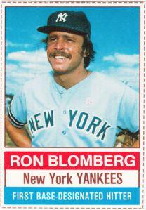 1976 Hostess Ron Blomberg