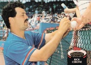 1992 Stadium Club Rick Cerone